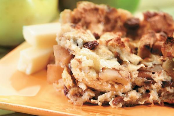 cinnamon apple strata