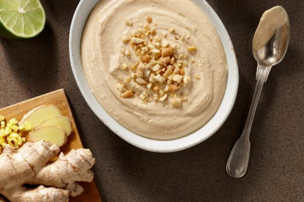 thai peanut and yogurt dip