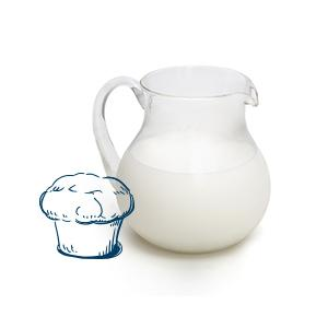 partly skimmed milk image FR