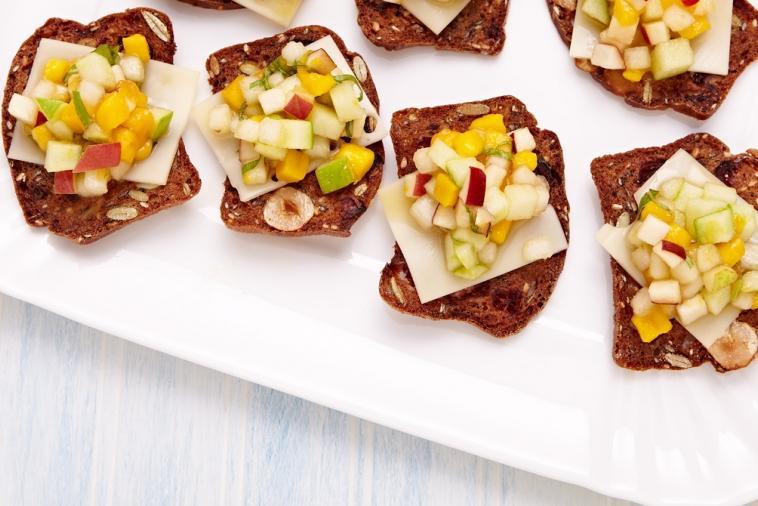 Craquelins au fromage Suisse et aux fruits - Plaisirs laitiers