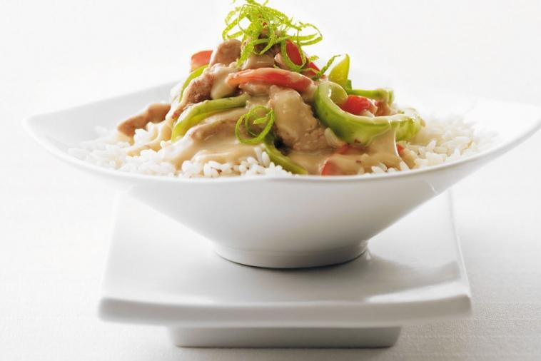 thai pork stir fry